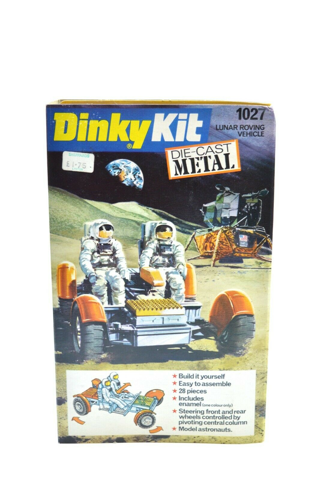 DINKY ACTION KIT 1027 LUNER ROVING VEHICLE