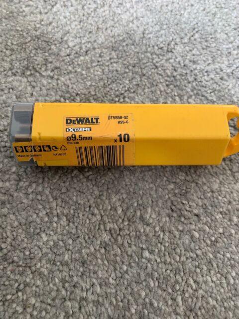 DeWalt DT5556-QZ Extreme 2 Metal Drillbit 9.5 X 125mm 10pk