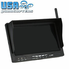 "FPV Monitor 5.8GHz 7"" Inch Screen 5.8G 32Ch Receiver High Brightness"
