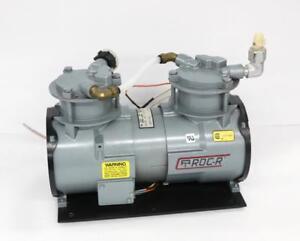 Gast Raa V111 Eb Oil Free Vacuum Pump Ebay