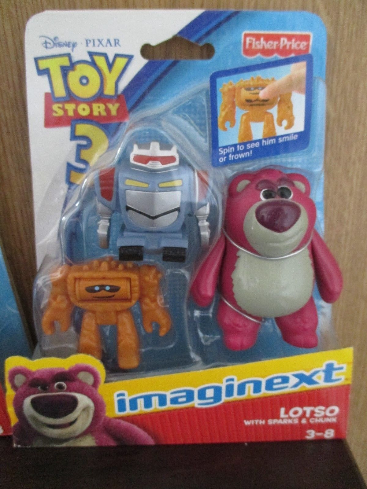 Imaginext Imaginext Imaginext Toy Story 3 Buzz Lightyear Spaceship Woody Bullseye Lotso Chunk Sparks ace7a8