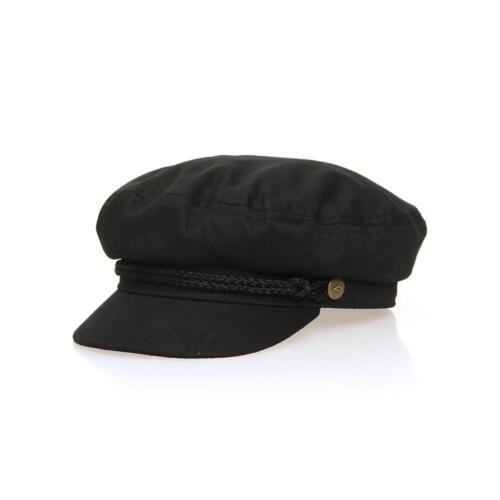 Brixton Fiddler Cap Noir Brixton Hats /& Strass Casual Chapeaux