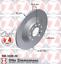 2ED Zimmermann Bremsscheiben 302mm Beläge Hinten AUDI A6 4F C6 für PR-NR= 1KD