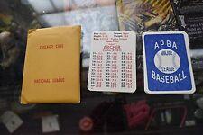 Original 1913 APBA Baseball Cards Chicago Cubs Set National League E-23