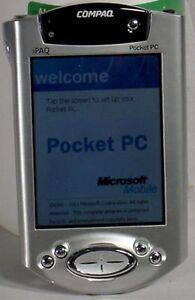compaq ipaq h3955 color lcd pocket pc pda 64mb touchscreen expansion rh ebay com