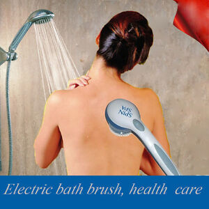Bath-Spin-SPA-Massage-Shower-Brush-Cleaning-System-Long-handle-5-in-1-Electric