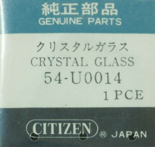 GLASS CRYSTAL GLASS CITIZEN 54 U0014