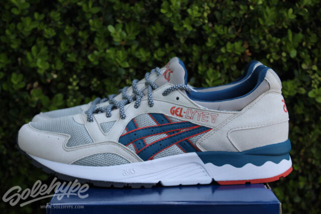 987a59fbacad Frequently bought together. ASICS GEL LYTE V 5 SZ 6 GHOST CHILI LIGHT GREY  ...