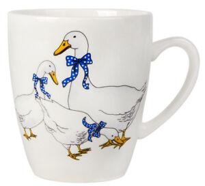 Porcelain-Mug-with-Geese-Print-Made-in-Russia-12-fl-oz-Coffee-Tea-Mug