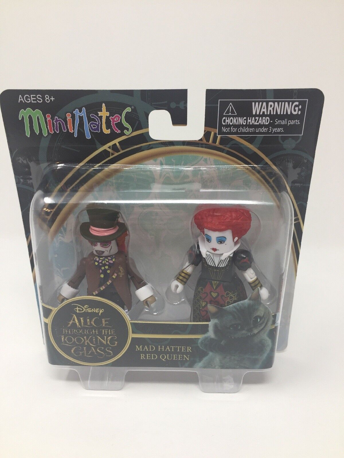 Alice Through the Looking Glass Minimates série 1 Mad Hatter /& Reine Rouge