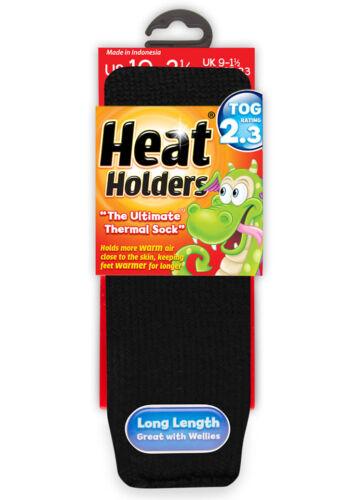 Garçons filles détenteurs de chaleur d/'origine longues chaussettes thermiques 2 tailles beaucoup de couleurs!