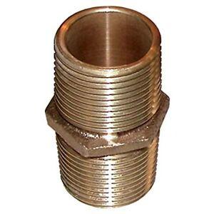 1 1/2 in. Groco Bronze Pipe Nipple