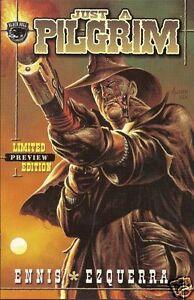 JUST A PILGRIM LIMITED PREVIEW EDITION # 1 NM- (Black Bull, 2000) original ComB