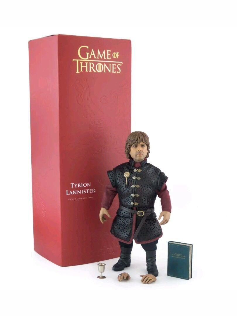 Threezero 1 6 Tyrion Lannister Game of Thrones Sixth Scale Figure mib