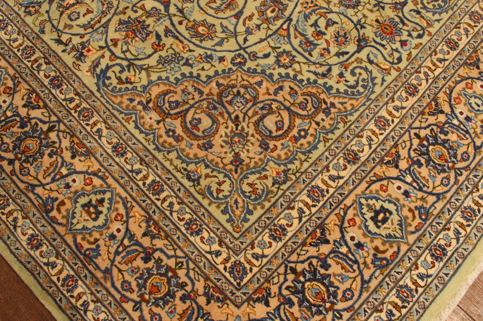 TAPPETO Orientale Vero Annodato Tapis Tapis Tapis persan (398 x 290) cm Ottimo Stato 4001 0326b9