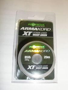 Korda-armakord-XT-38-5kg-kg-20m-Extremo-Lider-Pesca-De-Carpa-anzuelo