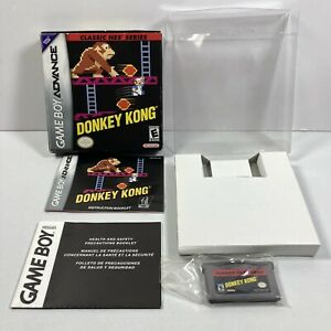 Donkey-Kong-Classic-NES-Series-Game-Boy-Advance-2004-Complete-w-Box-amp-Manual