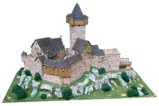 Aedes  1001. Maqueta Castillo de Falkenstein. Construccion de ladrillos  les clients d'abord la réputation d'abord