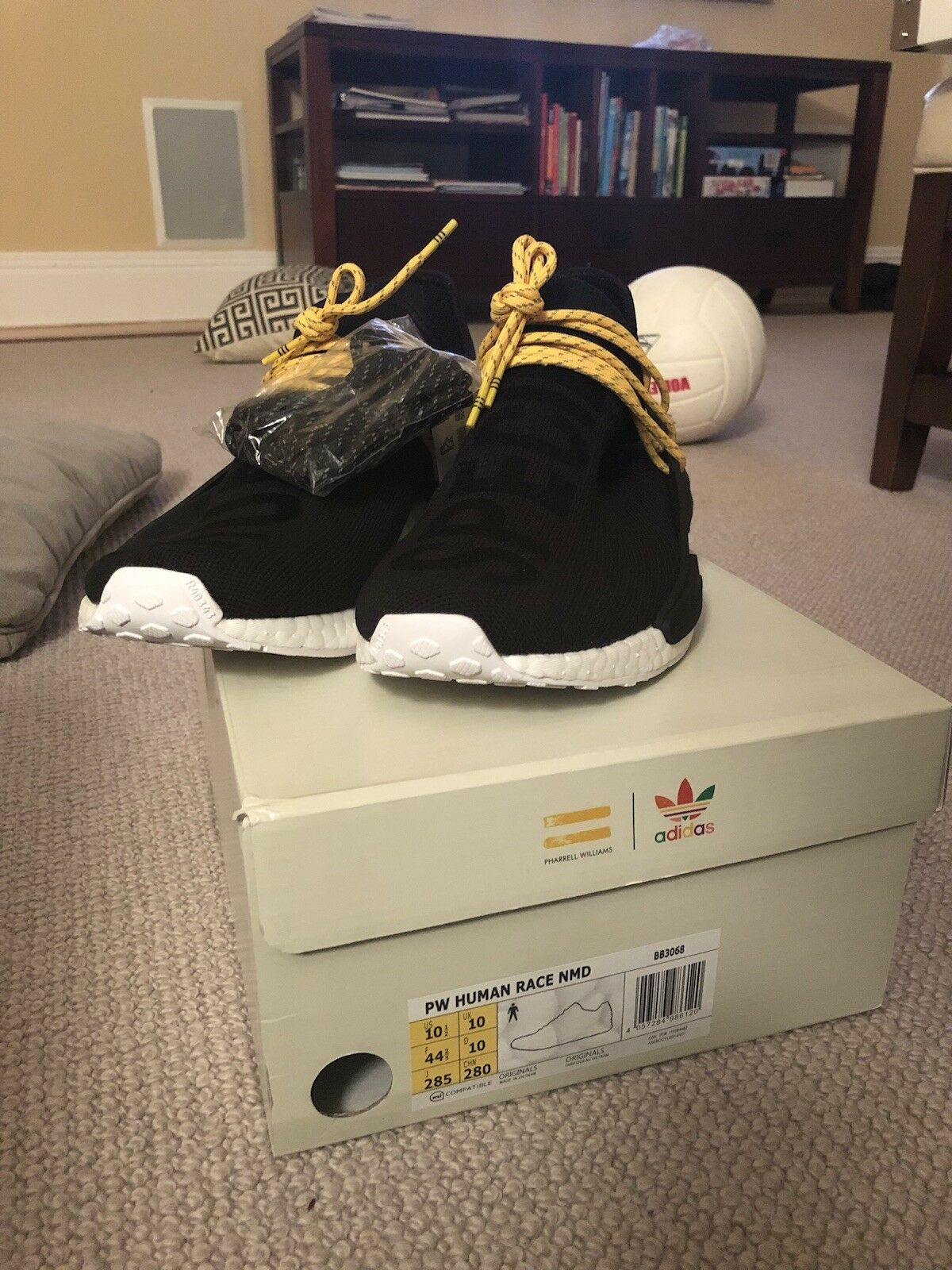 Black Human Races Ds Sz 10.5