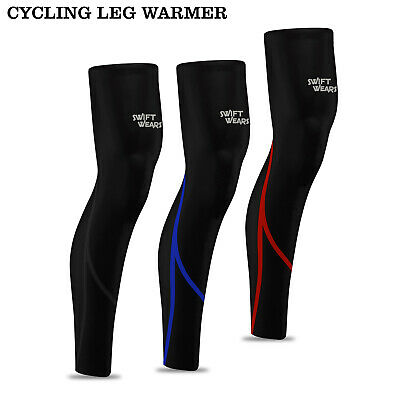 Mens Cycling Leg Warmers Winter Running Thermal Roubix Cycle Knee Warmer