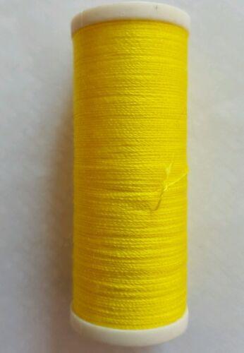 Nuevo 180M de alta calidad amarillo canario Algodón Hilo De Coser mano o máquinas