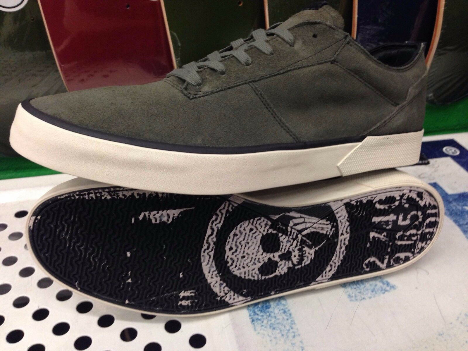 Volcom Sizes Steelo X Skullphone Skate Shoe *New* Multiple Sizes Volcom ef4962