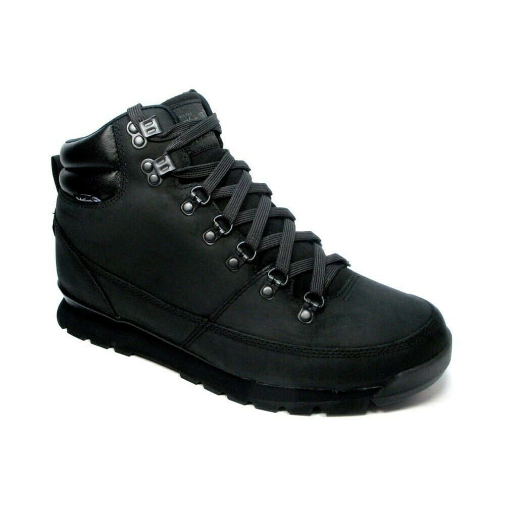 The North Face Back TO Berkeley Redux Trans WP T0CDL0KX8 black snow boots