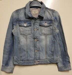Girls-New-NEXT-Denim-Jacket-Ages-3-to-16-in-Light-Blue