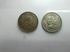 5 rupee coin of nehru and indra gandhi 2 coin set rare