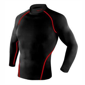 Take Five Mens Skin Tight Compression Base Layer Running Lining Shirt NT034