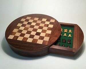 Quality Wooden Magnetic Chess Set Christmas Gift Ideas for Him Her ...
