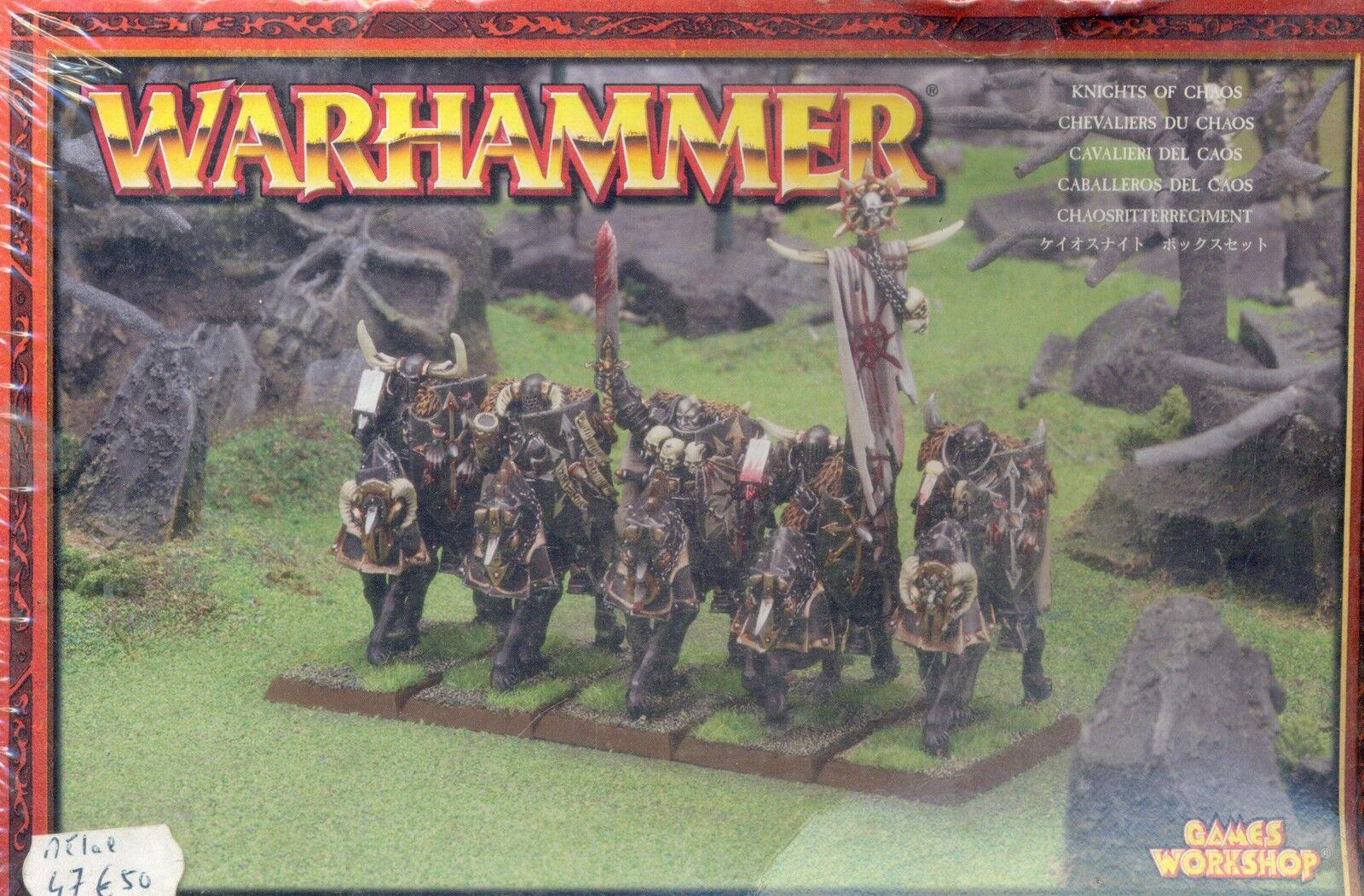 Gw warhammer boîte chevaliers du chaos aus.