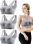 3 Pieces 2019 Women Anti-Sagging Sports Bra Crop Top with Soft Padded for Yoga,
