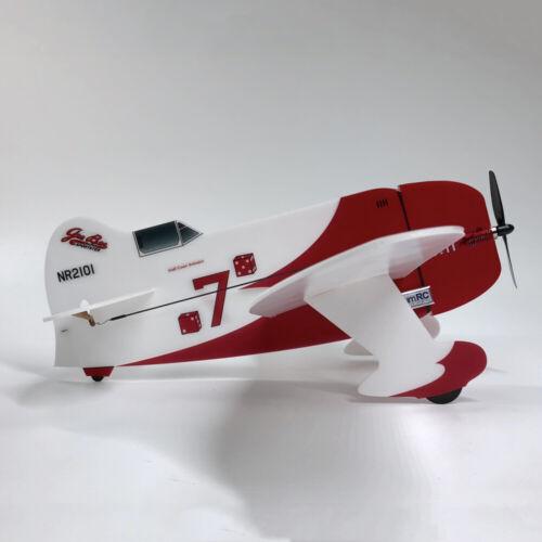 MinimumRC Geebee 360mm Wingspan Backyard Fighter Series RC Airplane Kit W//Motor