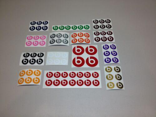 Beat Dre Stickers bundle of 84 Vinyl Decal Music Sticker Headphones Logo