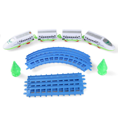 Battery Operated City High Speed Passenger Bullet Toy Train With Light and Music