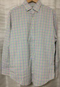 NEW-Peter-Millar-Wicking-Sport-Shirt-for-men-039-s-size-L-Without-tag