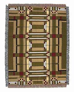 Details About Frank Lloyd Wright Oak Park Skylight Tapestry Throw Blanket