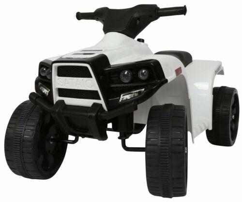 Mini Quad Elettrico per Bambini 6V Kid Go Bianca