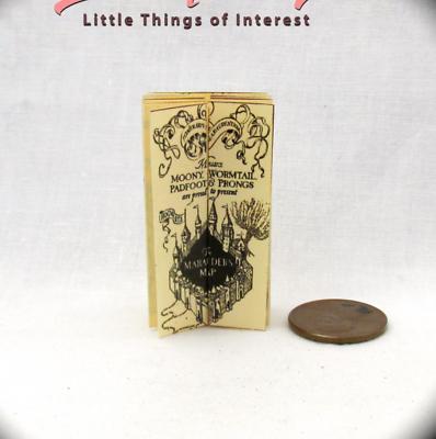 1:24 Scale HOGWARTS ACCEPTANCE LETTER Miniature Dollhouse Potter Magic Wizard