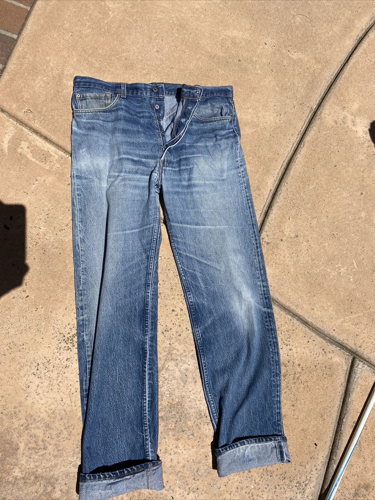 vintage levis jeans 501 made in usa  - image 2