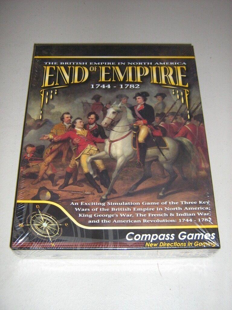 End of Empire  1744-1783 (Three giocos in one) (nuovo) (nuovo) (nuovo) ce2b77