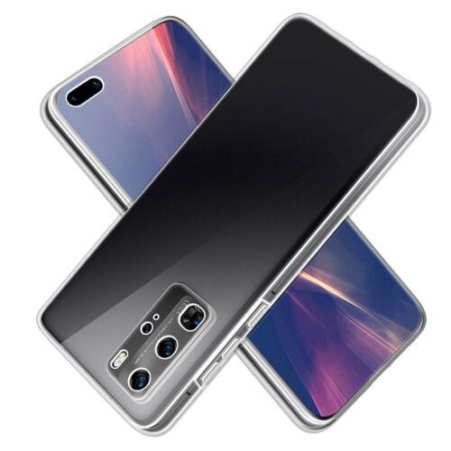 Sdtek Caso para Huawei P40 Pro Completo 360 Gel Cubierta frontal y parte trasera dura