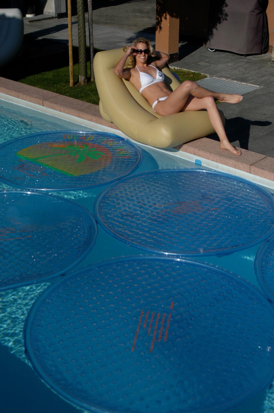 Solar Sun Rings aro solar calentador piscina
