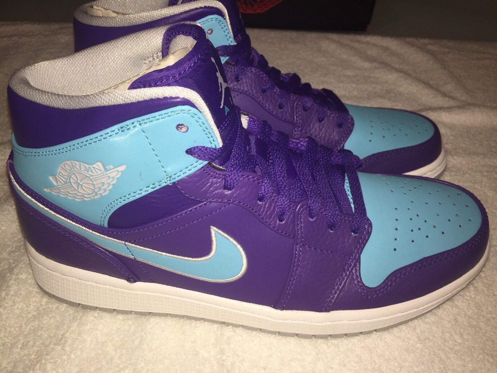New Air Jordan Retro 1's Charlotte Hornets Men's Size 10