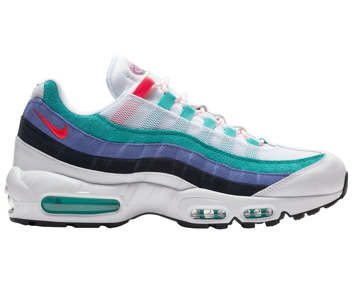 Nike Air Max 95 Origins Mens AV7939-100 White Hyper Jade Running shoes Size 10
