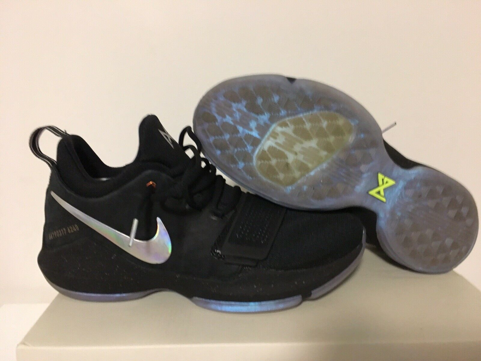 quality design 748fd cfd67 Nike PG Paul George 1 Shining TS Prototype Size 10.5
