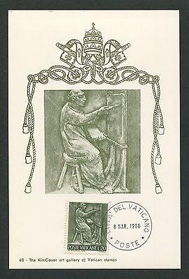 Briefmarken Arbeitswelt-branchen Intelligent Vatican Mk 1966 Berufe Maler Painter Maximumkarte Carte Maximum Card Mc Cm D5636