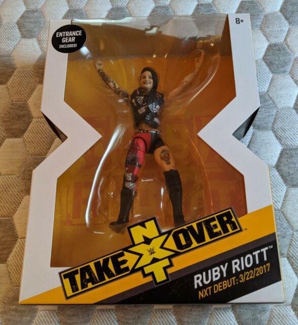 WWE Ruby Riott action figure Mattel NXT Takeover Series 4 Exclusive Elite