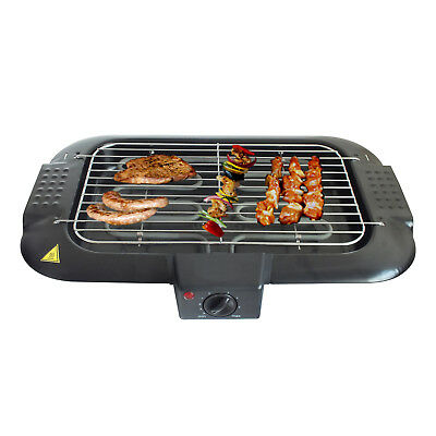 2000W ELECTRIC INDOOR BARBECUE HEALTH GRILL PORTABLE TABLETOP SMOKE REDUCING